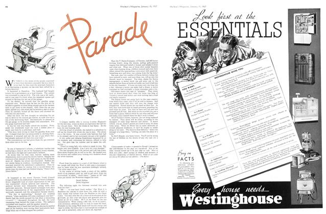 Article Preview: parade, January 1937 | Maclean's