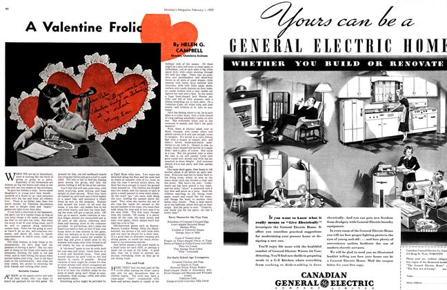 Article Preview: A Valentine Frolic, February 1st 1937 1937 | Maclean's