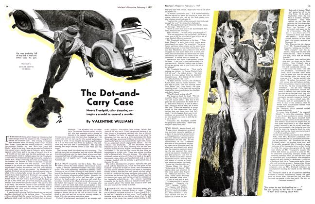 Article Preview: The Dot-and-Carry Case, February 1st 1937 1937 | Maclean's