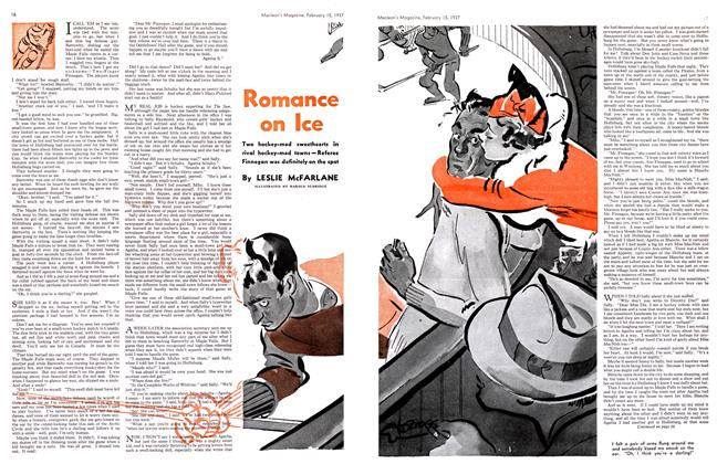 Article Preview: Romance on Ice, February 1937 | Maclean's