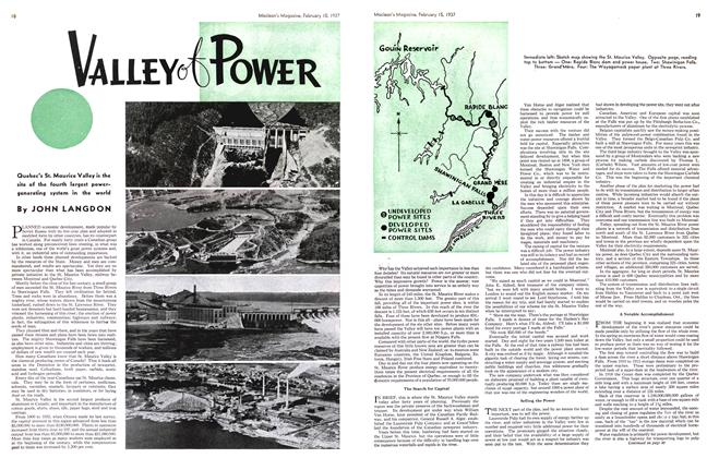 Article Preview: VALLEY of POWER, February 1937 | Maclean's