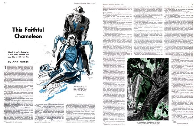 Article Preview: This Faithful Chameleon, March 1st 1937 1937 | Maclean's