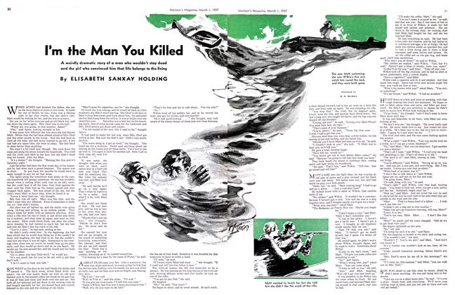 Article Preview: I'm the Man You Killed, March 1st 1937 1937 | Maclean's