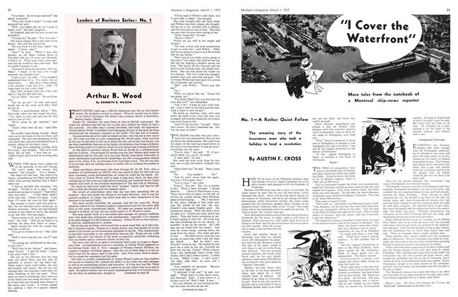 Article Preview: Arthur B. Wood, March 1st 1937 1937 | Maclean's