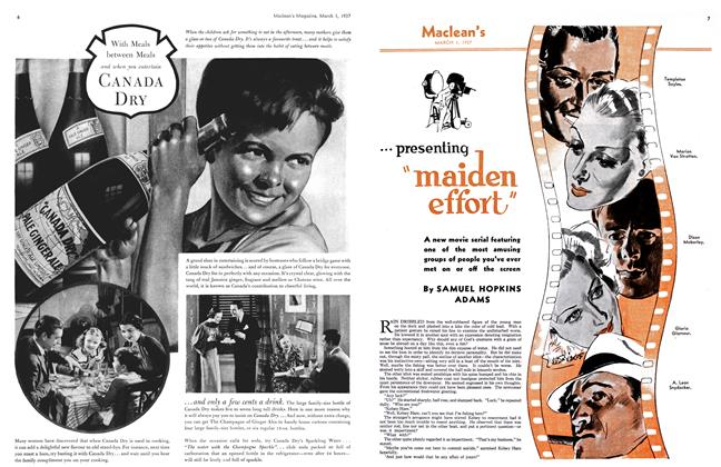"Article Preview: ...presenting ""maiden effort"", March 1st 1937 1937 