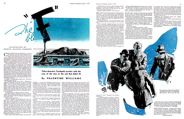 "Article Preview: The black ""F"", March 1st 1937 1937 