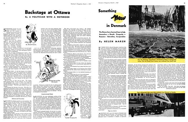 Article Preview: Something new in Denmark, March 1st 1937 1937 | Maclean's
