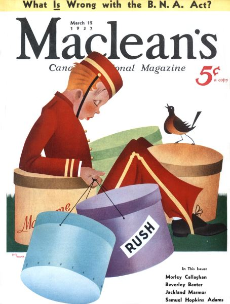 Issue: - March 1937 | Maclean's