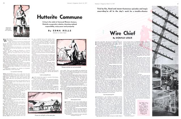 Article Preview: Hutterite Commune, March 1937 | Maclean's