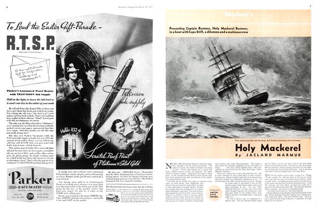 Article Preview: Holy Mackerel, March 1937 | Maclean's