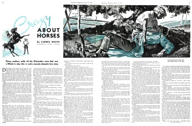 Article Preview: Crazy ABOUT HORSES, March 1937 | Maclean's