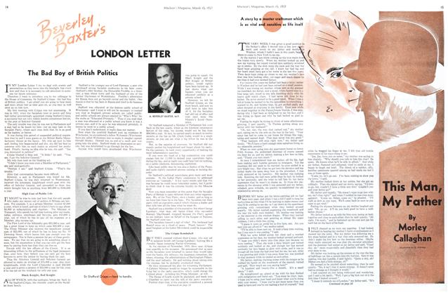 Article Preview: This Man, My Father, March 1937 | Maclean's