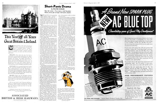Article Preview: Short-Pants Drama, April 1st 1937 1937 | Maclean's