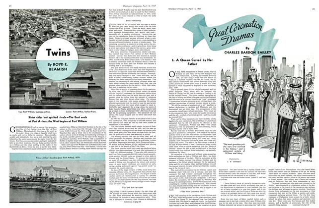 Article Preview: Great Coronation Diamas, APRIL 15th 1937 1937 | Maclean's
