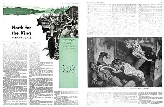 Article Preview: North for the King, APRIL 15th 1937 1937 | Maclean's
