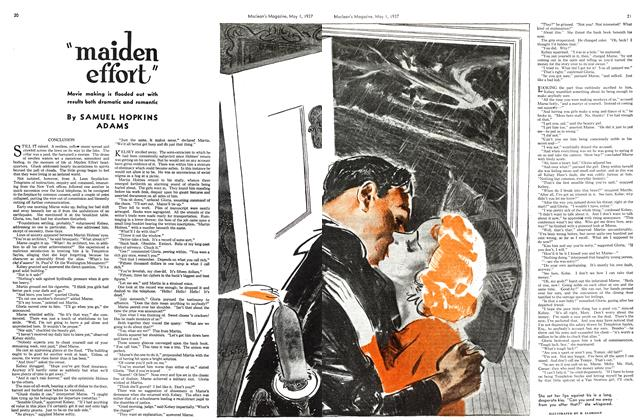 """Article Preview: """"maiden effort"""", MAY 1st, 1937 1937 