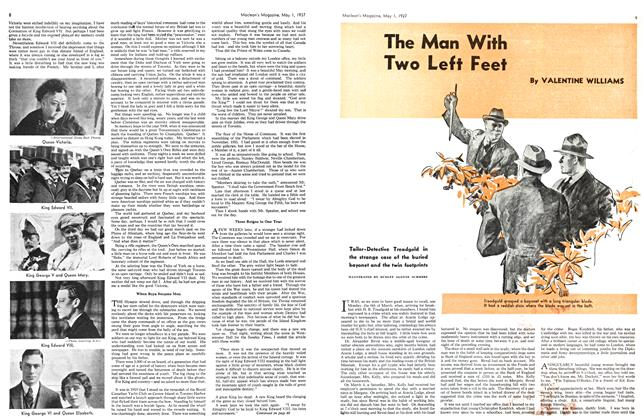 Article Preview: The Man With Two Left Feet, MAY 1st, 1937 1937 | Maclean's