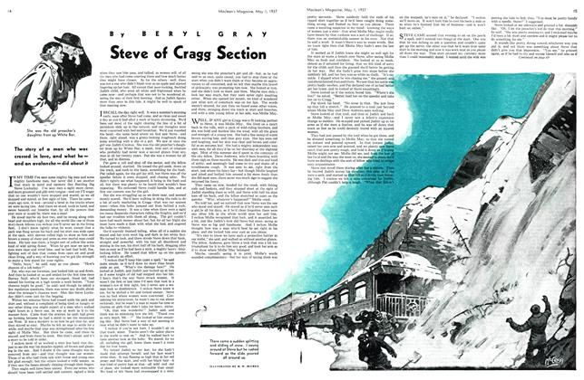 Article Preview: Steve of Cragg Section, MAY 1st, 1937 1937 | Maclean's