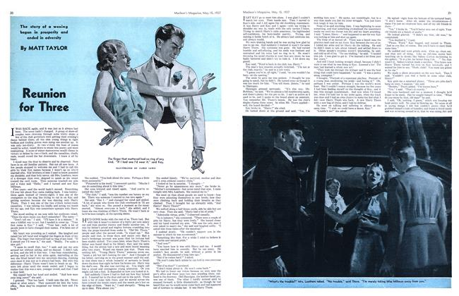Article Preview: Reunion for Three, May 1937 | Maclean's