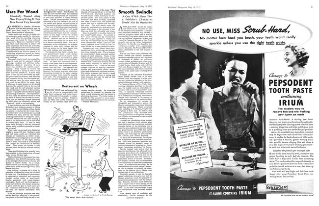 Article Preview: Smooth Swindle, May 1937 | Maclean's