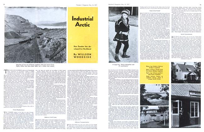 Article Preview: Industrial Arctic, May 1937 | Maclean's
