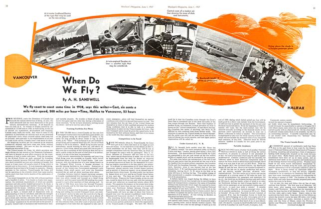 Article Preview: When Do We Fly?, JUNE 1st, 1937 1937 | Maclean's