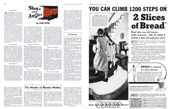 Article Preview: The Murder of Blanche Medloe, June 1937 | Maclean's
