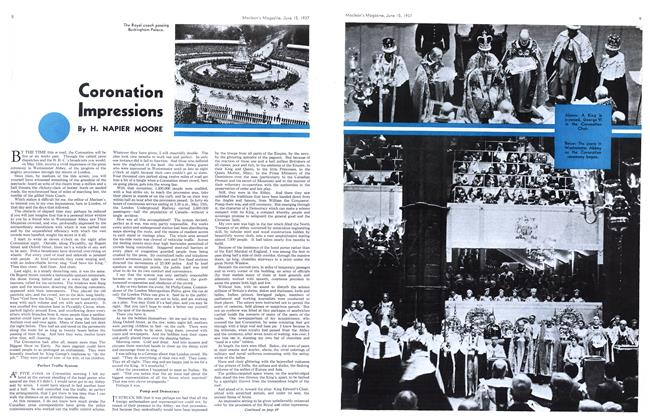 Article Preview: Coronation Impressions, June 1937 | Maclean's