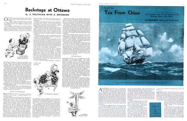 Article Preview: A Retold Tale Tea From China, June 1937 | Maclean's