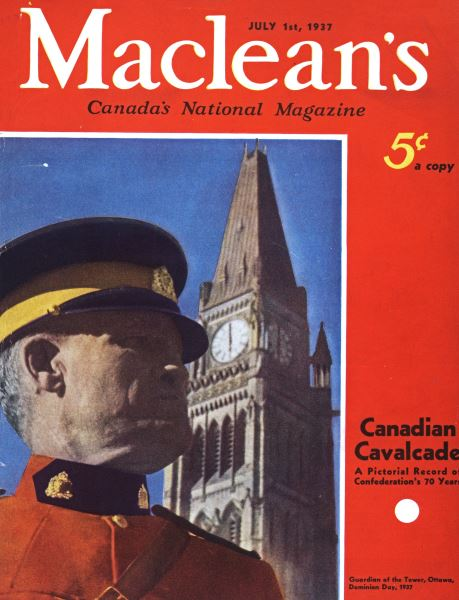 Issue: - JULY 1st, 1937 | Maclean's
