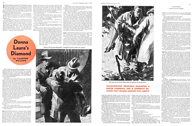 Article Preview: Donna Laura's Diamond, JULY 1st, 1937 1937 | Maclean's