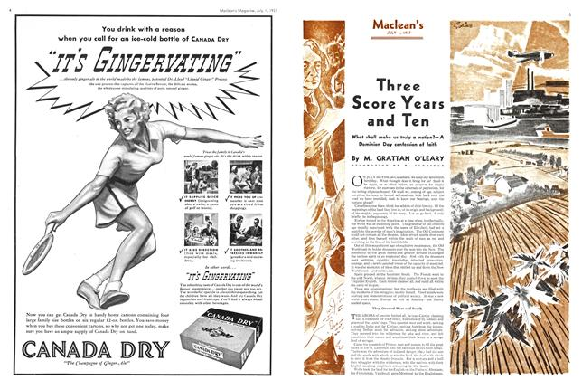 Article Preview: Three Score Years and Ten, JULY 1st, 1937 1937 | Maclean's