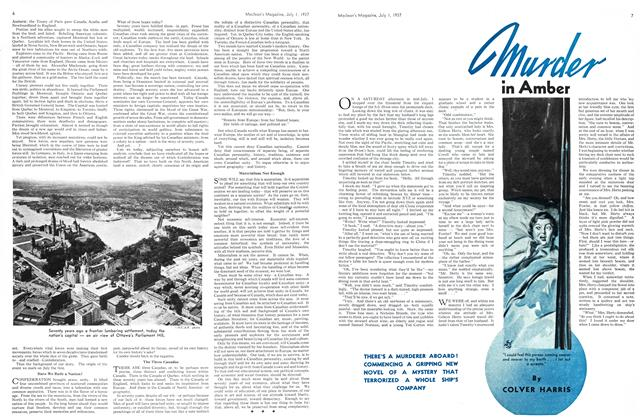 Article Preview: Murder in Amber, JULY 1st, 1937 1937 | Maclean's