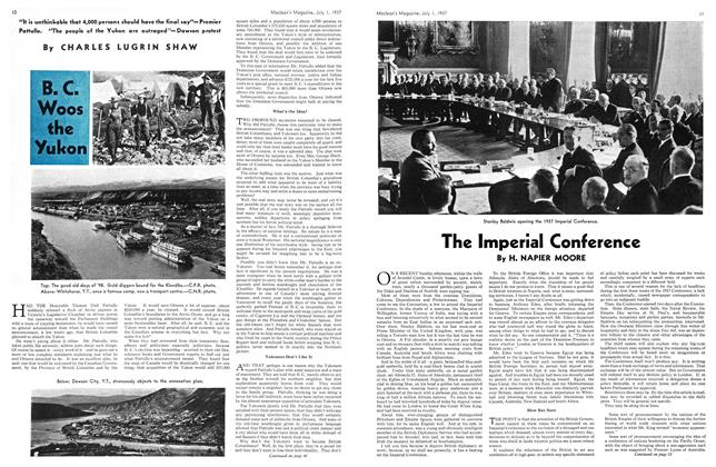 Article Preview: The Imperial Conference, JULY 1st, 1937 1937 | Maclean's