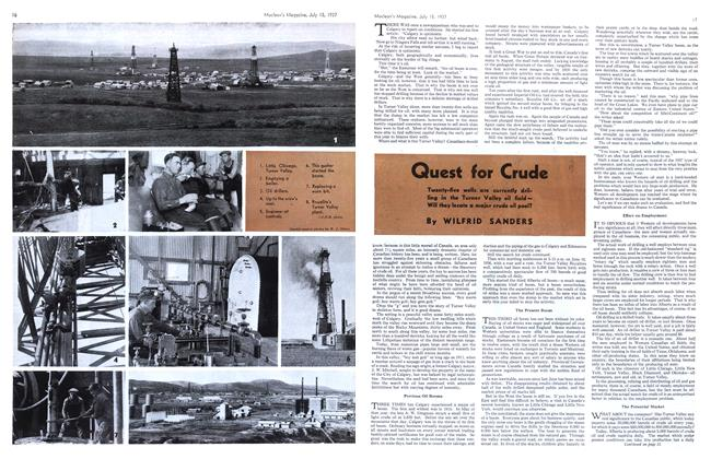 Article Preview: Quest for Crude, JULY 15th, 1937 1937 | Maclean's