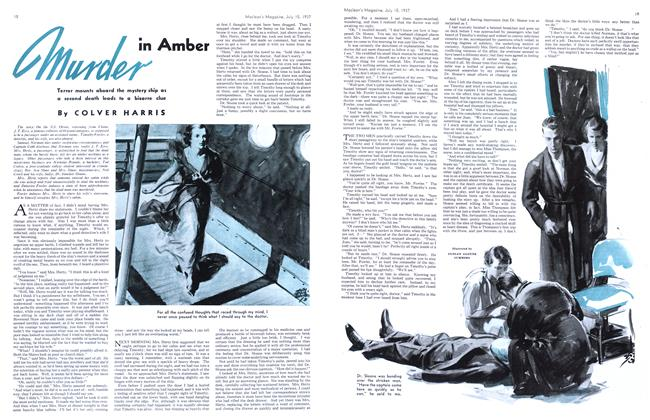 Article Preview: murder in Amber, JULY 15th, 1937 1937 | Maclean's