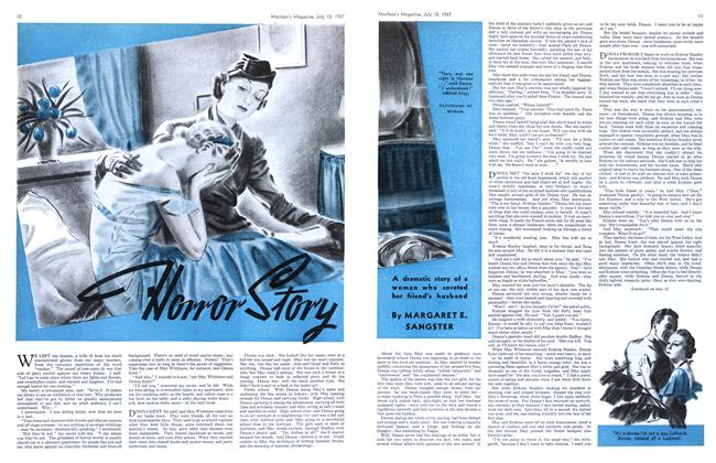 Article Preview: Horror Story, JULY 15th, 1937 1937 | Maclean's