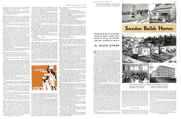 Article Preview: Sweden Builds Homes, AUGUST 1st, 1937 1937 | Maclean's