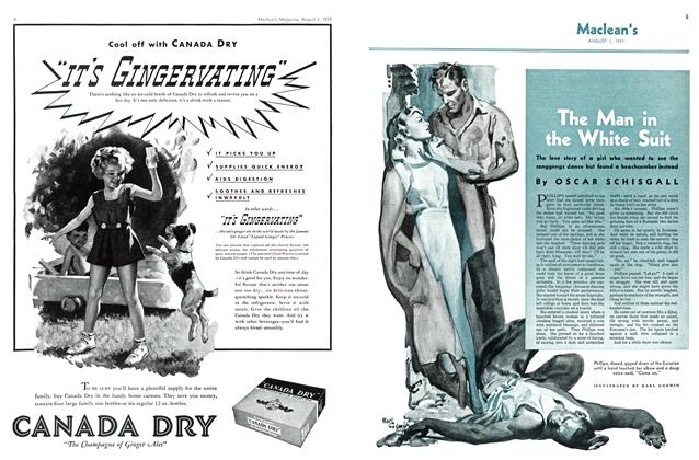 Article Preview: The Man in the White Suit, AUGUST 1st, 1937 1937 | Maclean's