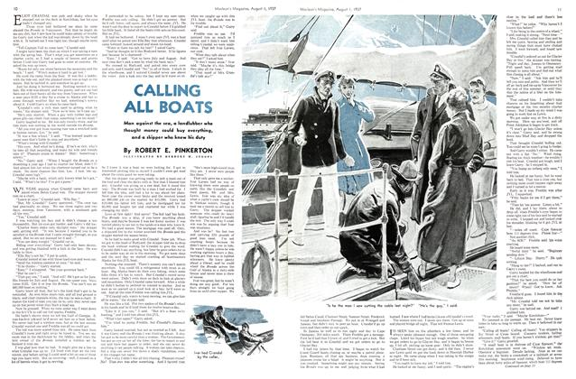 Article Preview: CALLING ALL BOATS, AUGUST 1st, 1937 1937 | Maclean's