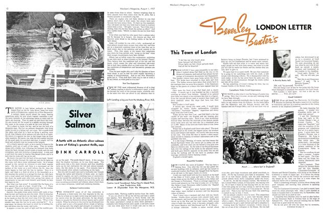 Article Preview: Silver Salmon, AUGUST 1st, 1937 1937 | Maclean's