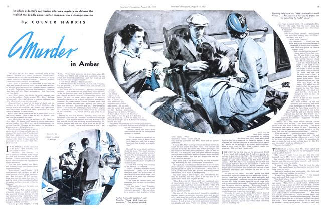 Article Preview: murder in Amber, August 1937 | Maclean's