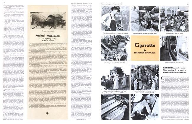 Article Preview: Cigarette, August 1937   Maclean's