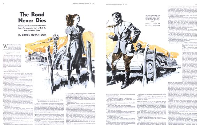 Article Preview: The Road Never Dies, August 1937 | Maclean's