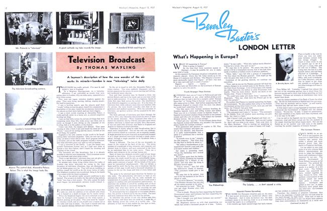 Article Preview: Televkion Broadcast, August 1937 | Maclean's