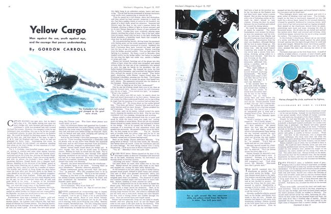 Article Preview: Yellow Cargo, August 1937 | Maclean's