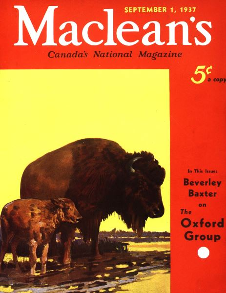 Issue: - September 1937 | Maclean's