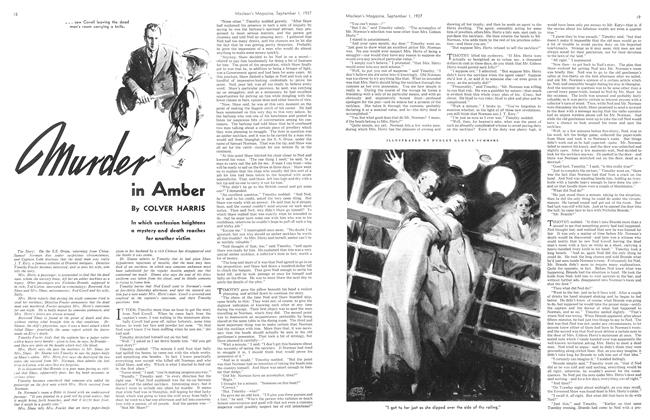 Article Preview: murder in Amber, September 1937 | Maclean's