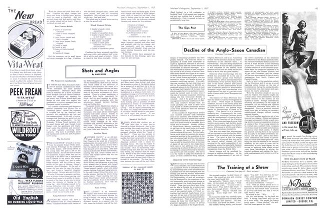 Article Preview: Shots and Angles, September 1937   Maclean's