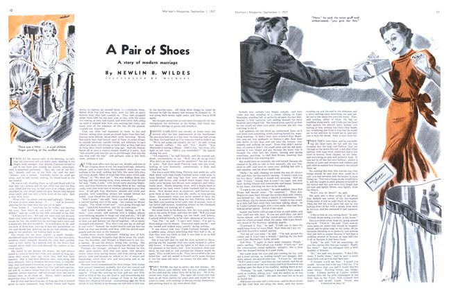 Article Preview: A Pair of Shoes, September 1937 | Maclean's